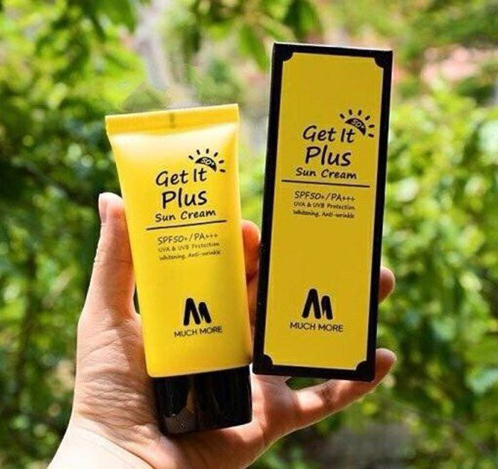 Kem chống nắng Much more Get It Plus Sun cream SPF50+/PA+++