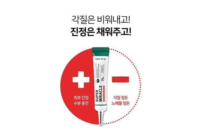 Kem Trị Mụn Some By Mi AHA-BHA-PHA 14 Days Super Miracle Spot All Kill Cream