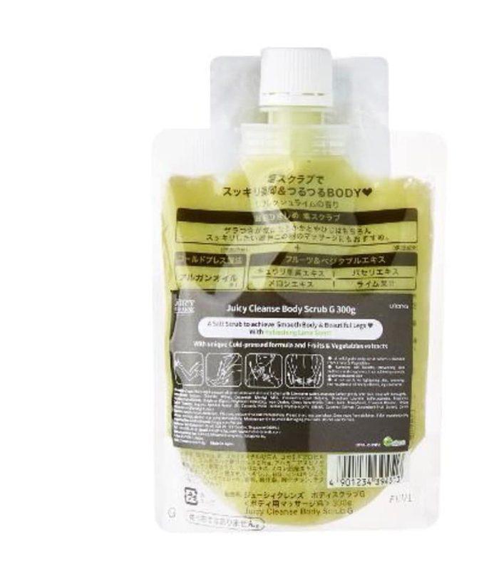 Muối tẩy tế bào chết Utena Body Salt Juicy Cleanse