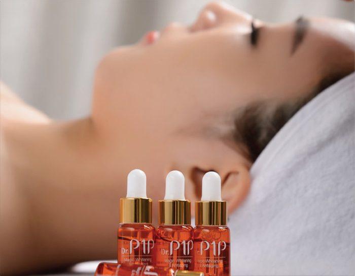 Serum dưỡng da dr p1p magic whitening anti aging