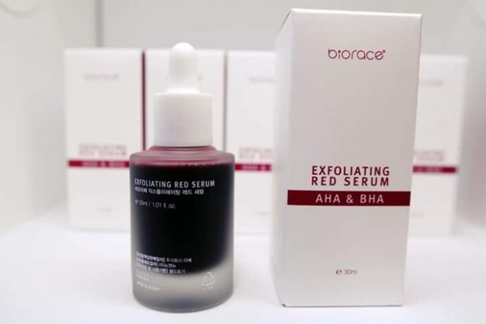 Biorace Exfoliating Red Serum AHA & BHA