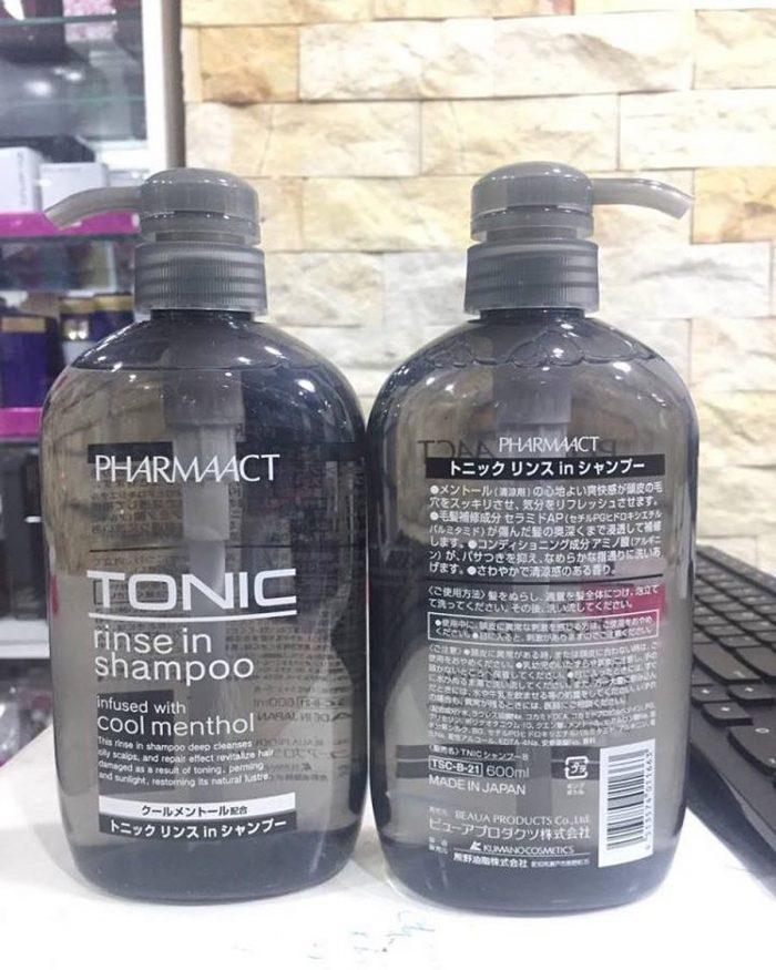 Dầu Gội Pharmaact TONIC rinse in shampoo