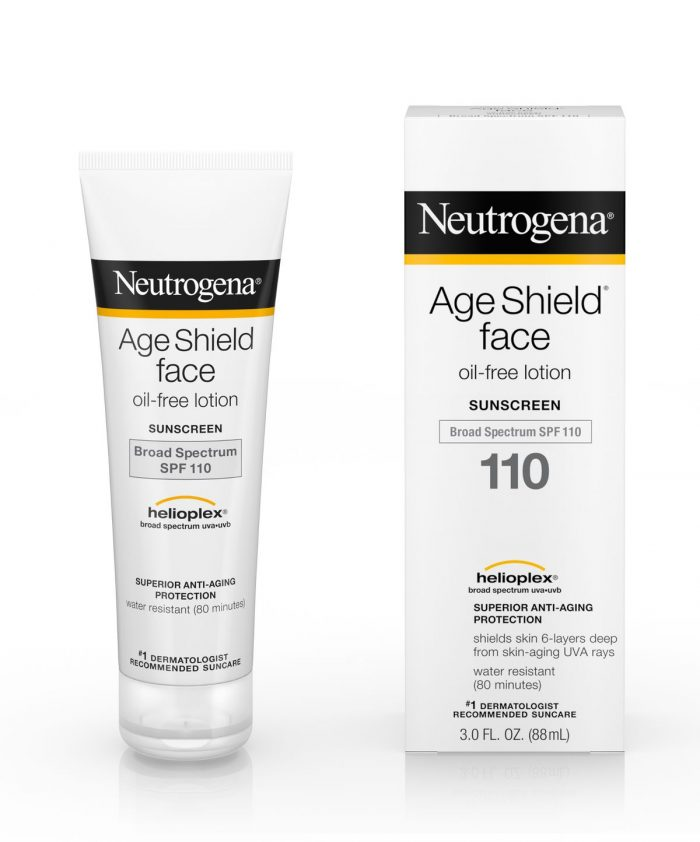 Kem chống nắng Neutrogena Age Shield Face Oil Free SPF 110