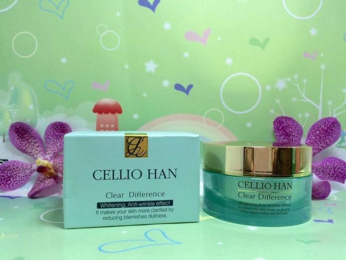 Kem dưỡng trắng Cellio Han Clear Difference