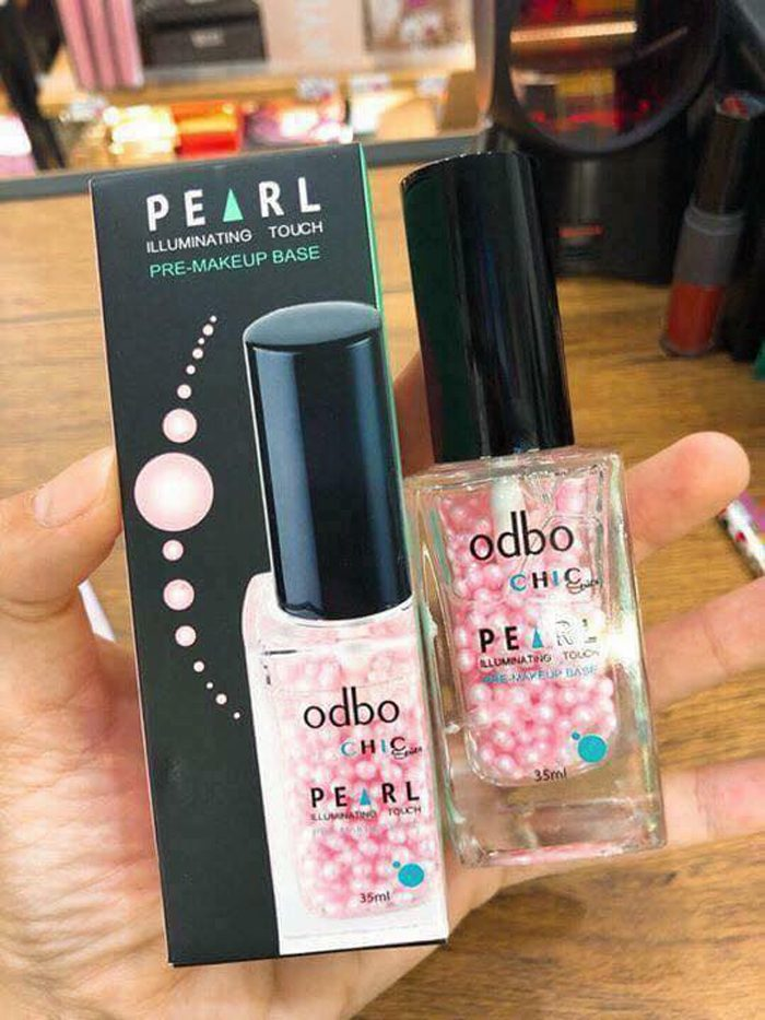 Kem lót Odbo Chic series Pearl illuminating touch Pre-Makeup base