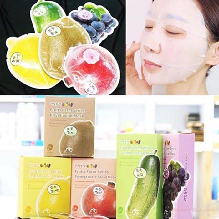 Mặt nạ Rainbow Fruit Farm Mask Pack