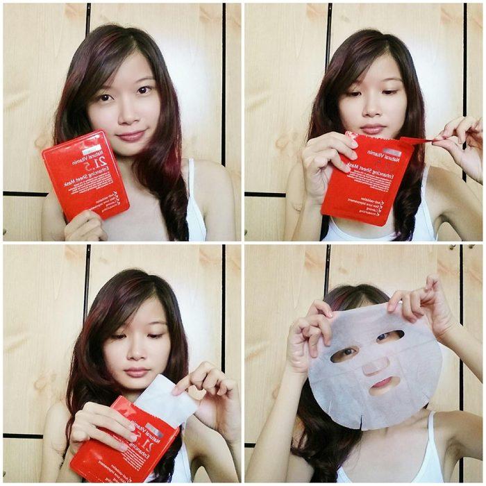 Mặt nạ Natural Vitamin 21.5 Enhancing Sheet Mask