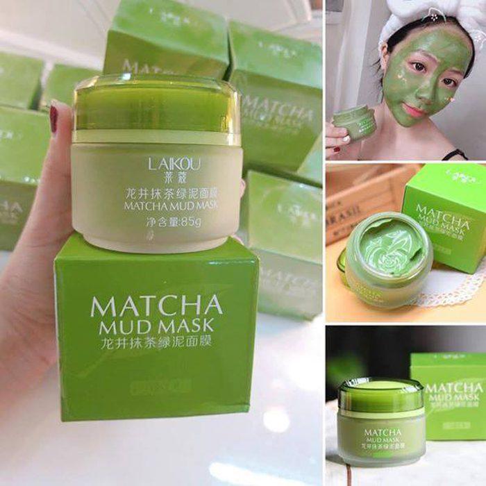 Mặt nạ Laikou Matcha Mud Mask