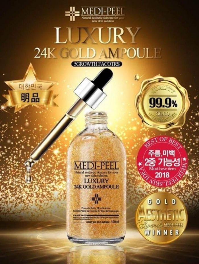 Tinh Chất Vàng Serum MEDI-PEEL Luxury 24K Gold Ampoule