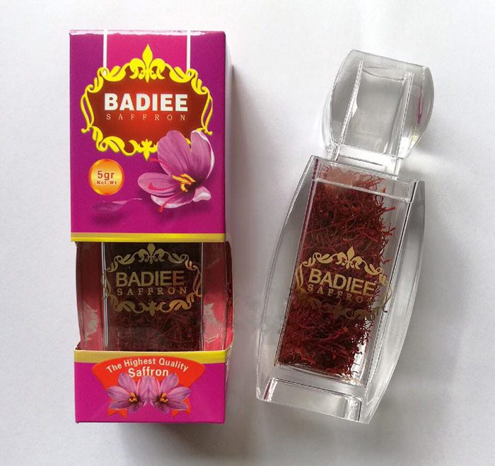 Nhụy hoa nghệ tây Saffron Badiee