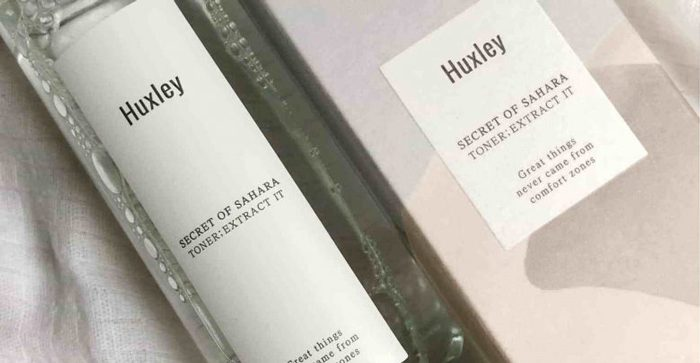 Nước hoa hồng HUXLEY Secret of Sahara Toner; Extract It