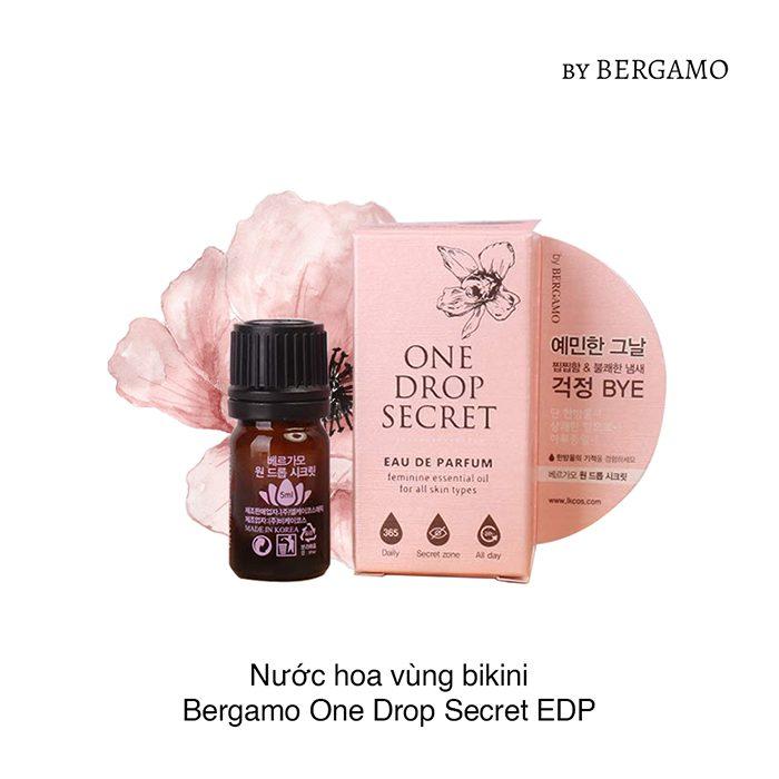 Nước Hoa Vùng Kín Bergamo One Drop Secret