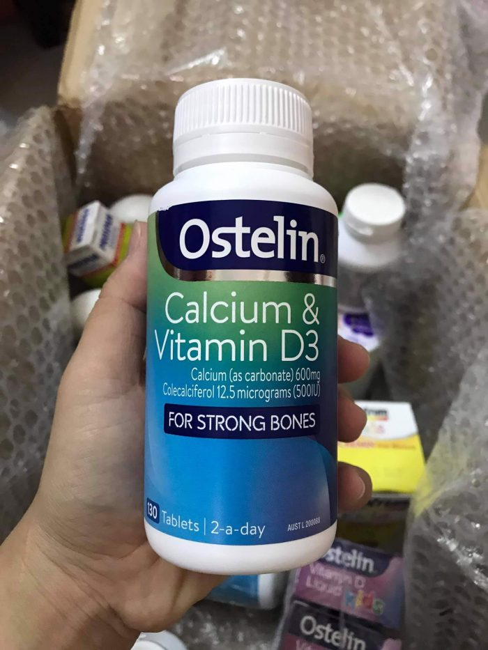 ostelin vitamin d and calcium for strong bones
