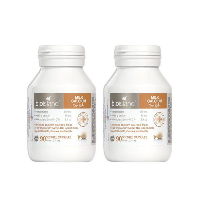 Bio island milk calcium for kids
