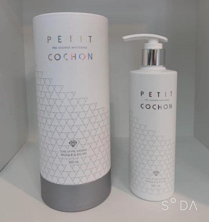 Sữa tắm trắng Petit Pre-shower whitening Cochon