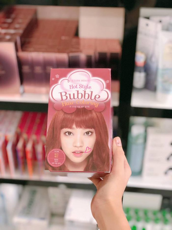 Nhuộm Tóc Etude House Hot Style Bubble Hair Coloring