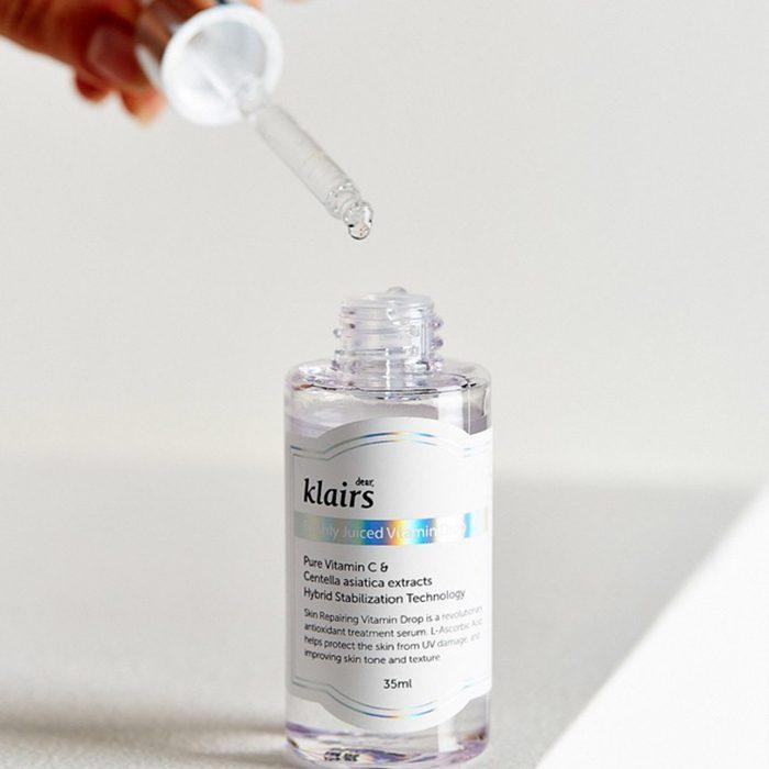 Kết quả hình ảnh cho serum sáng da klairs