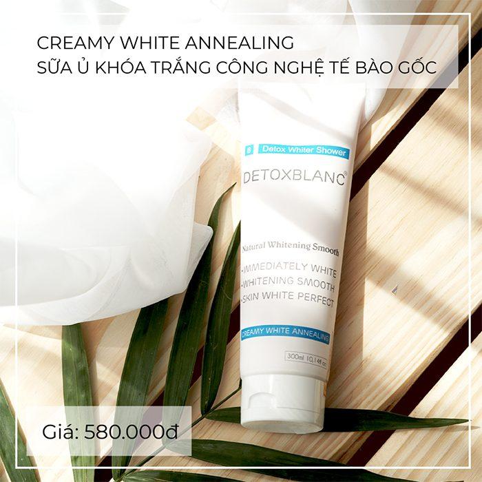 Ủ trắng Detox BlanC CREAMY WHITE ANNEALING