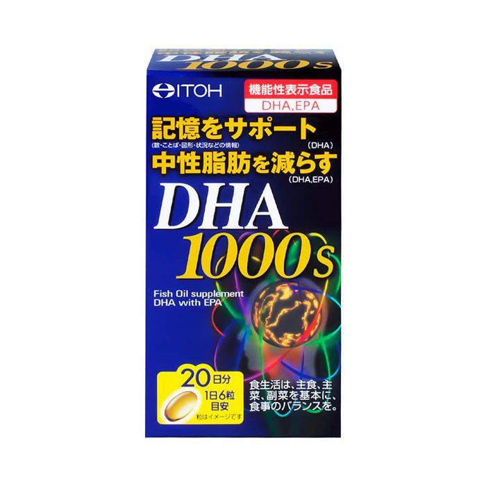 Viên Uống Bổ Não DHA Itoh 1000mg 120 viên