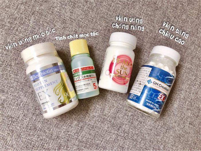 Viên uống kích thích mọc tóc Best Biotin Supplement EX