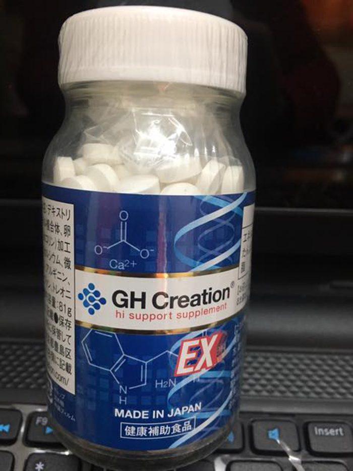 Viên uống tăng chiều cao GH Creation EX