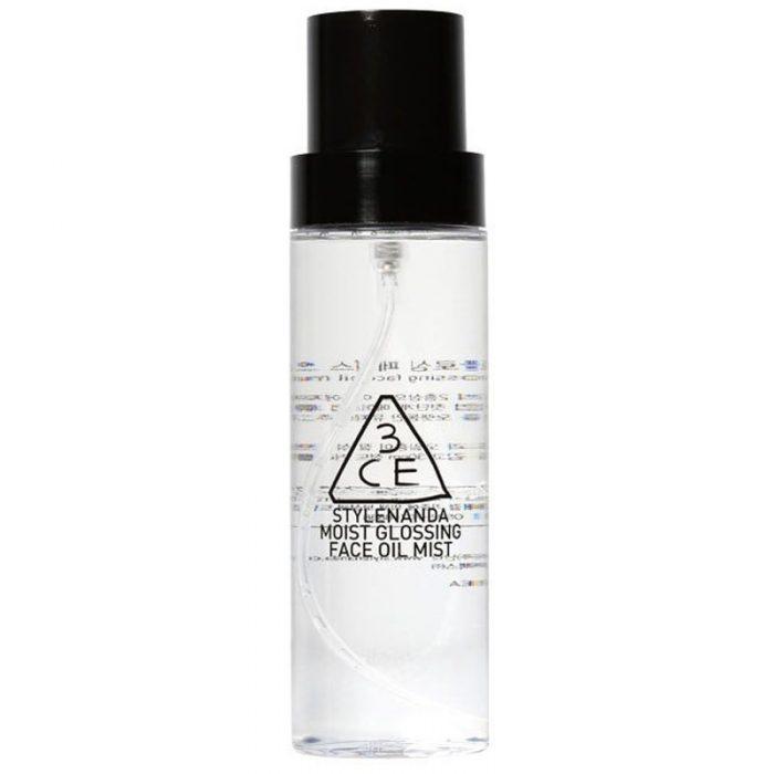 Xịt khoáng 3CE Stylenanda Moist Glossing Face Oil Mist