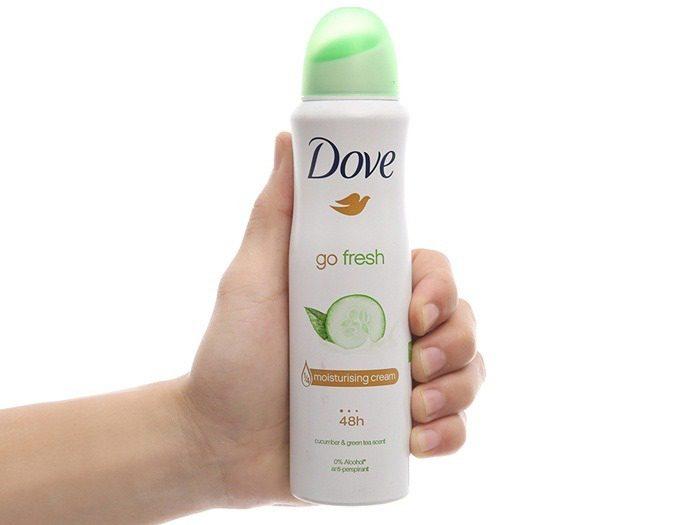 Xịt khử mùi Dove Go Fresh
