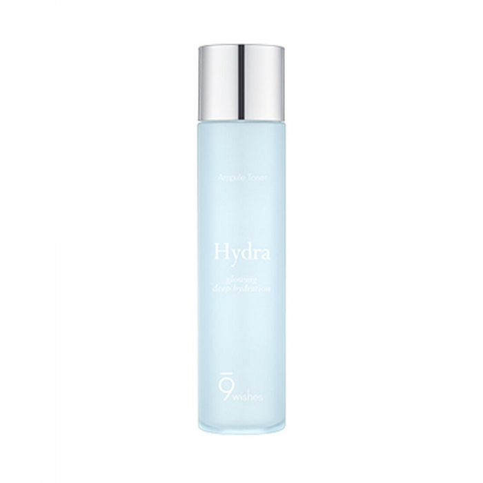 Nước hoa hồng 9Wishes Hydra Ampule Toner Glowing Deep Hydration