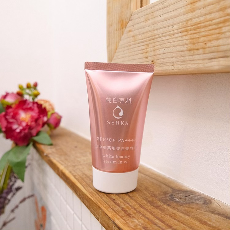 Senka White Beauty Lotion Ii Review: Review Serum Dưỡng Trắng Da Senka White Beauty Serum In CC
