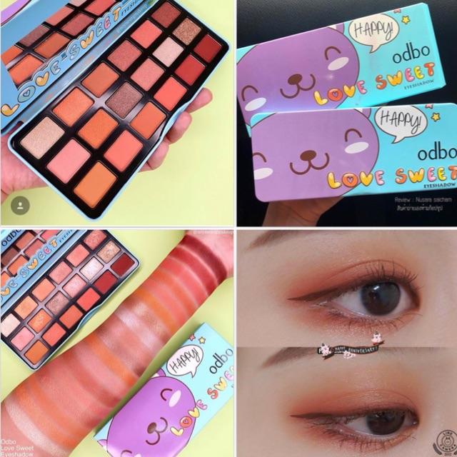 Bảng phấn mắt Odbo Love Sweet Eyeshadow