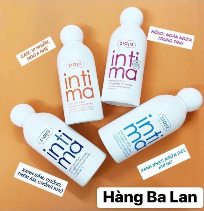 Dung dịch vệ sinh ziaja intimate creamy wash