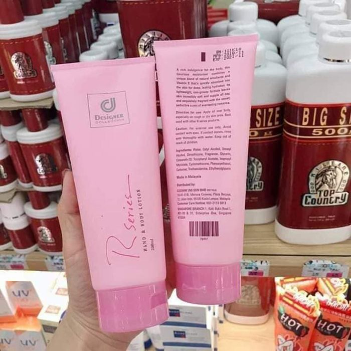Sữa dưỡng thể Designer Collection R Series hand and body lotion