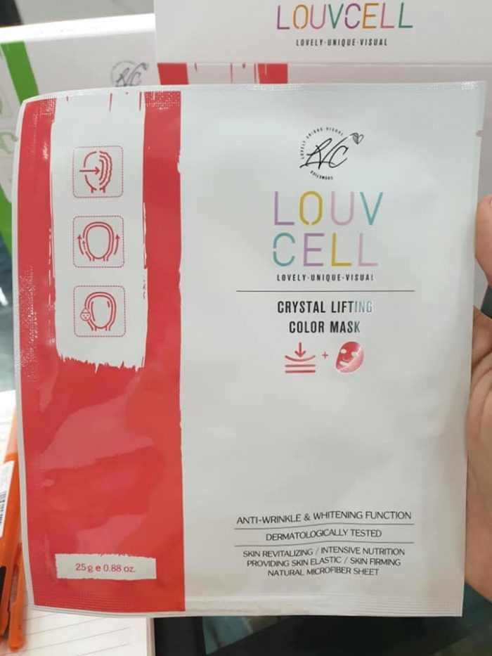 mặt nạ Louv Cell  Crystal color mask