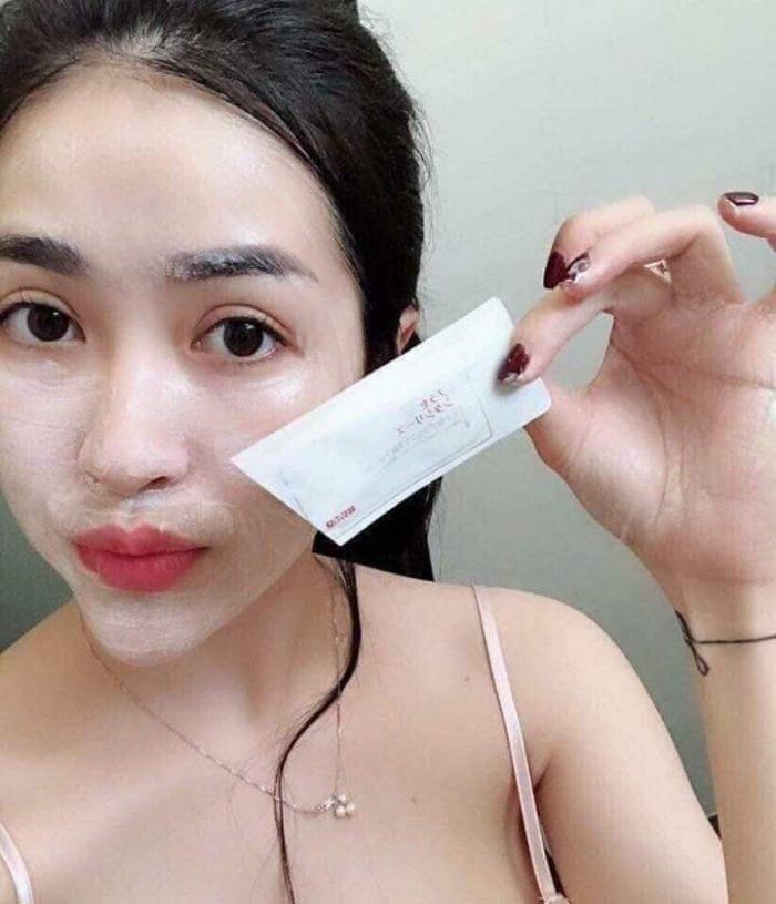 Mặt Nạ Nhau Thai Ủ Trắng Da Rwine Beauty Placenta Face Cleanser