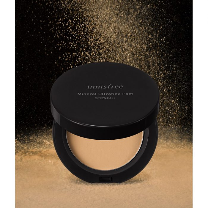 Phấn Phủ Innisfree Mineral Ultrafine Pact SPF25/PA++
