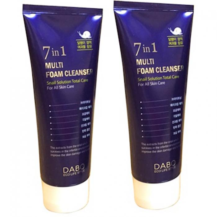 Sữa rửa mặt DaBo 7 in 1 Multi Foam Cleanser