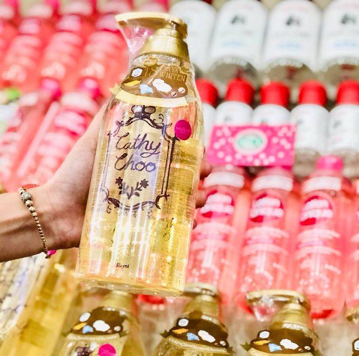 Sữa tắm trắng Cathy Choo 24k Active Gold