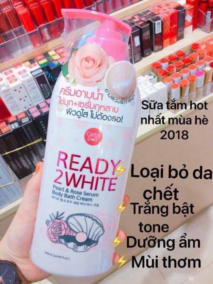 Sữa tắm Trắng Da Cathy Doll Ready 2 White
