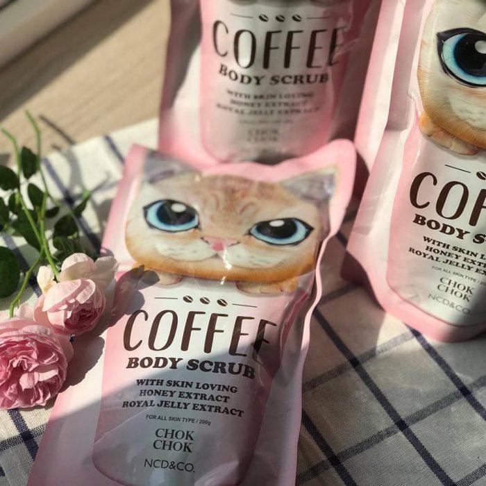 Tẩy tế bào chết Chok Chok Coffee Body Scrub