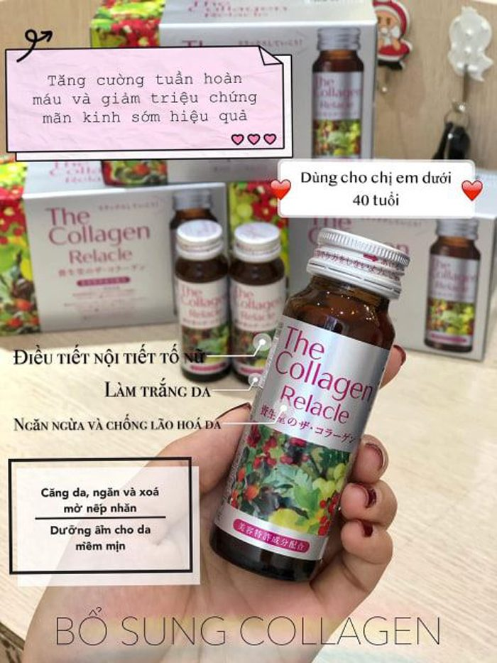 Nước uống The Collagen Relacle Shiseido