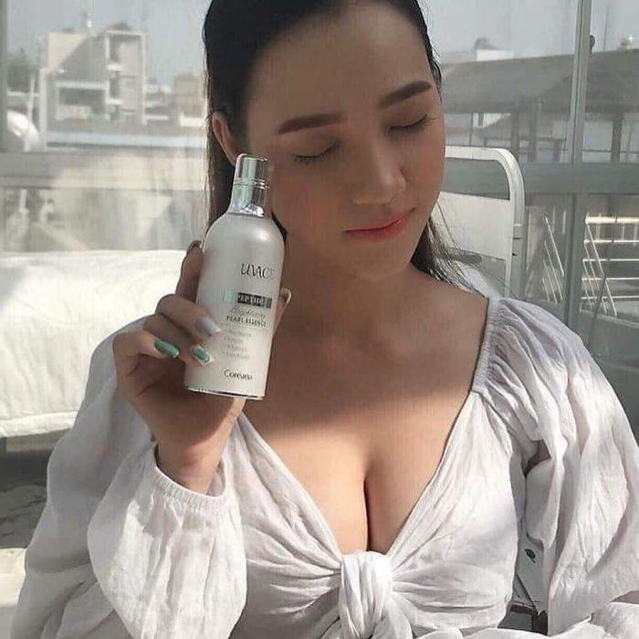 Tinh chất Coréana Luvace Brightening Pearl Essence
