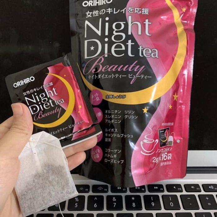 Trà giảm cân Orihiro Night Diet Tea Beauty