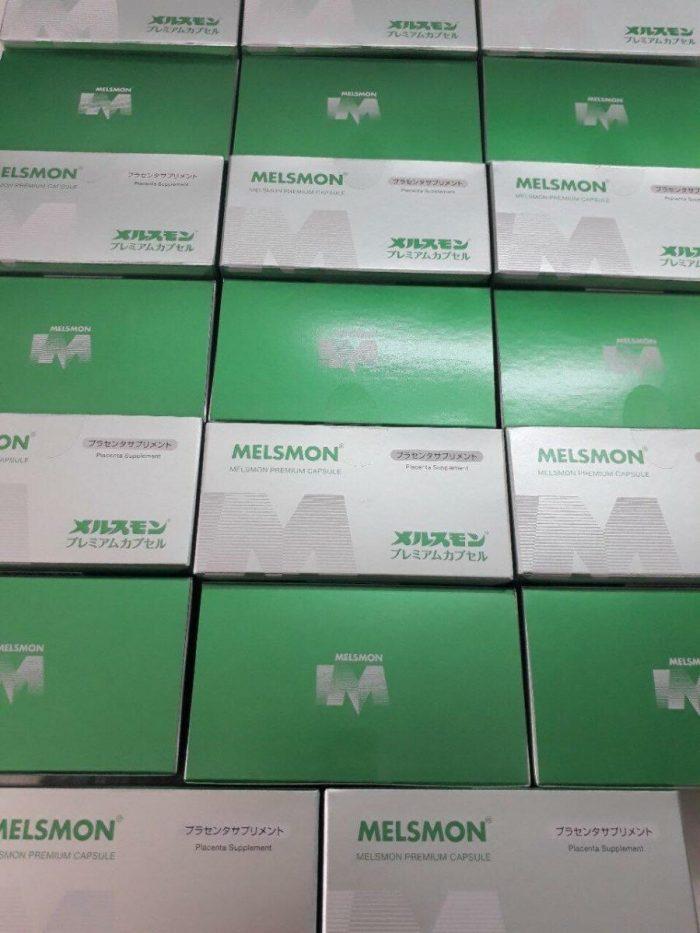 Viên uống Melsmon Premium Capsule Placenta Supplement