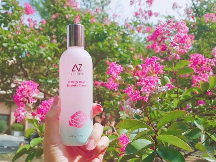 Nước Hoa Hồng AZ Solution Prestige Rose Essential Toner