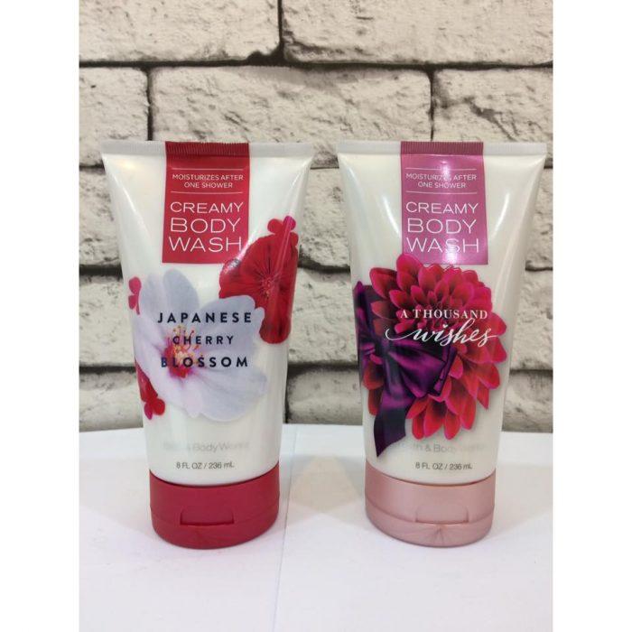 Sữa tắm Bath & BodyWorks Creamy Body Wash JAPANESE Cherry Blossom