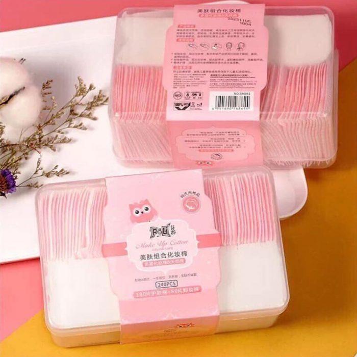 Bông Tẩy Trang Laneila Makeup Cotton