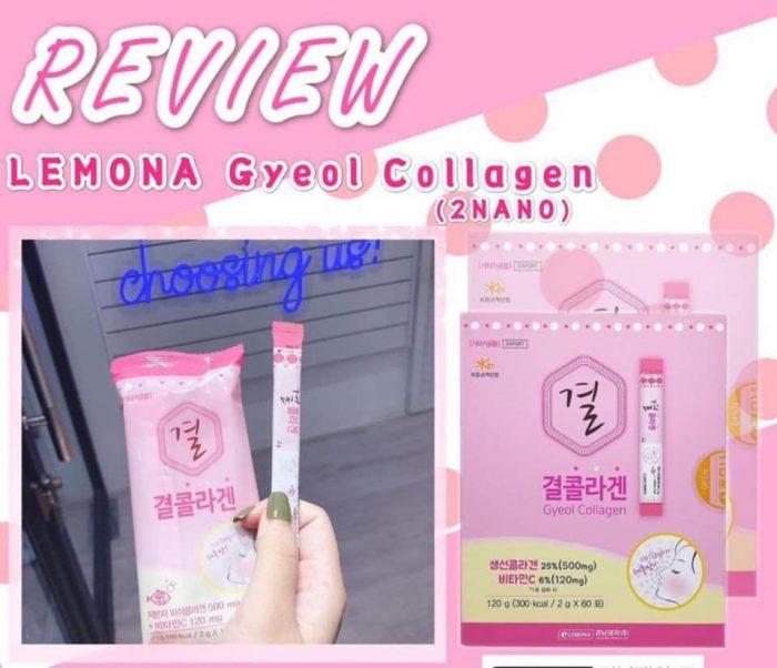 Bột Uống Collagen Lemona Gyeol Nano Collagen Powder Lemon