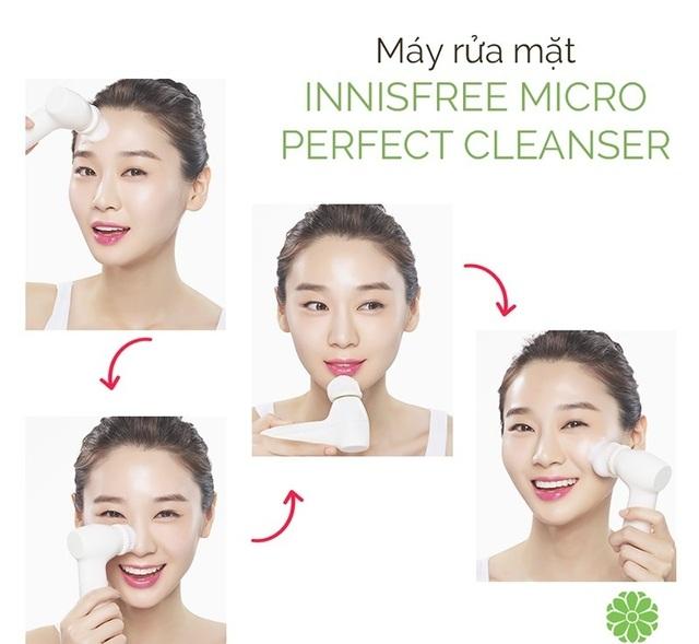 Máy Rửa Mặt Innisfree Micro Perfect Cleanser