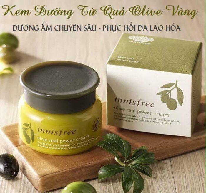 Kem Dưỡng Da Innisfree Olive Real Power Cream