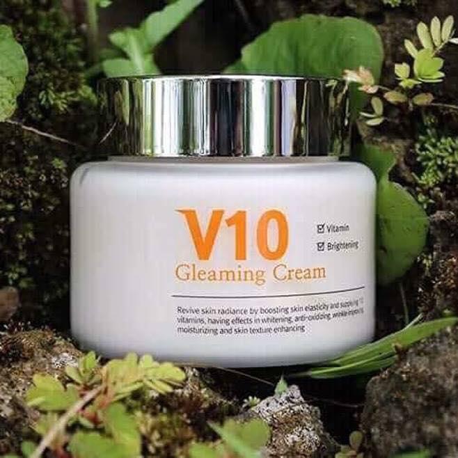 Kem Dưỡng Da V10 Gleaming Cream Skinaz